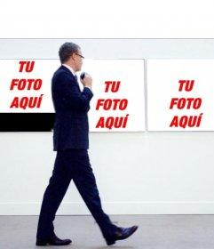 ¿Quieres salir en un cuadro de un museo con este fotomontaje?
