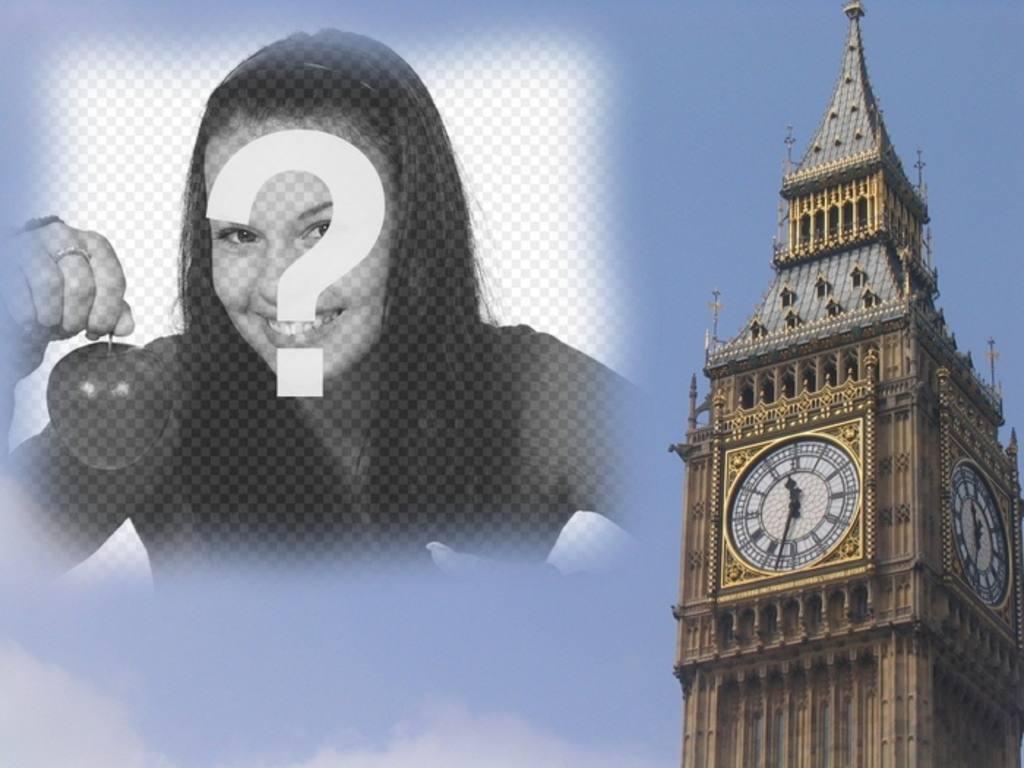Fotomontaje Para Hacer Una Postal Con El Big Ben De Londres