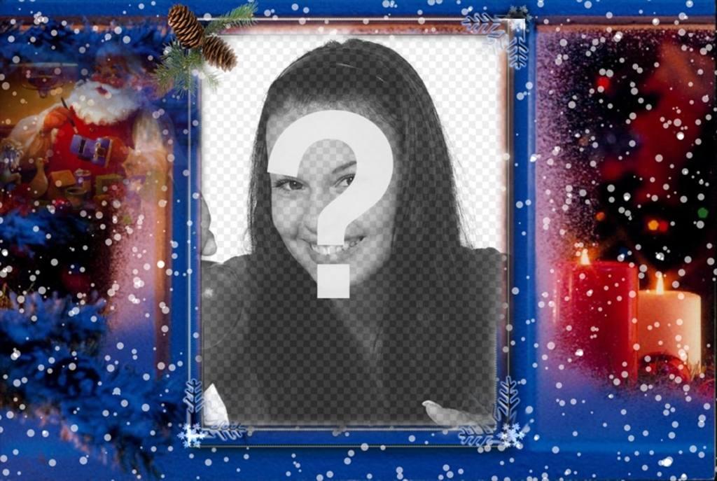 Especial postal de Navidad para añadir tu foto con filtro decorativo