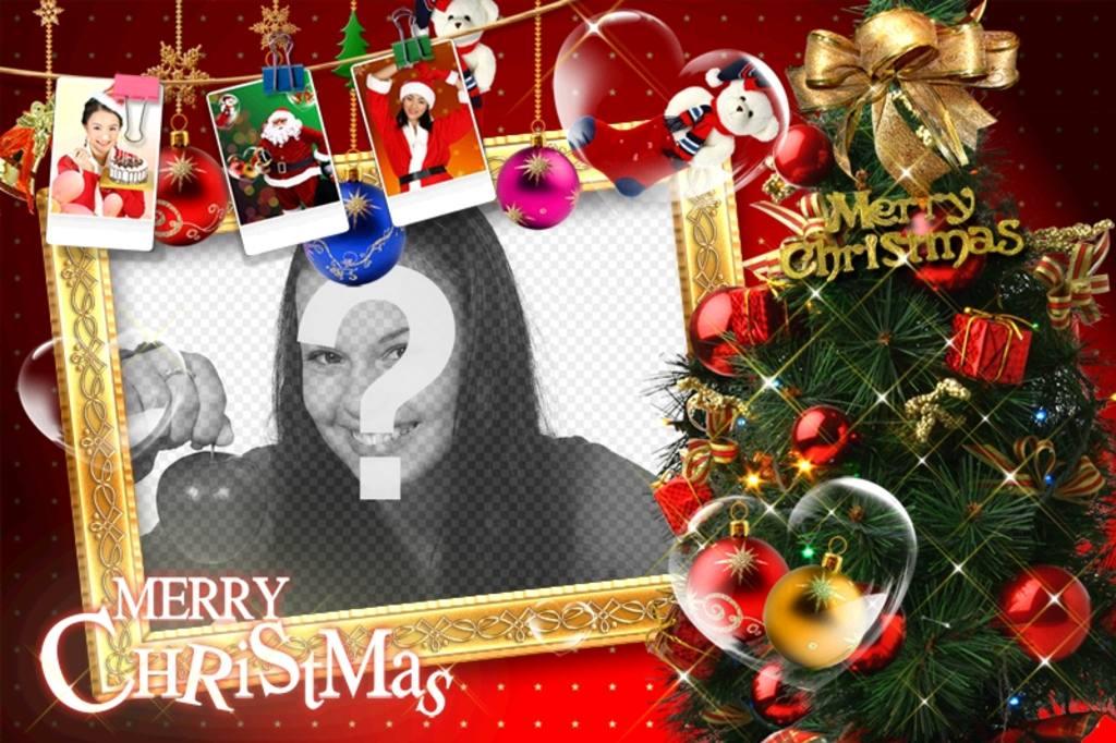 preciosa postal navidad motivos navidenos regalos fotografias santa claus regalos pare felicitaciones navidad foto