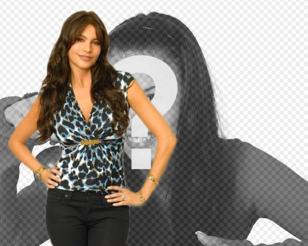 fotomontaje sofia vergara serie modern family ahora puedes aparecer foto actriz modelo colombiana considerada mujeres sensuales mundo