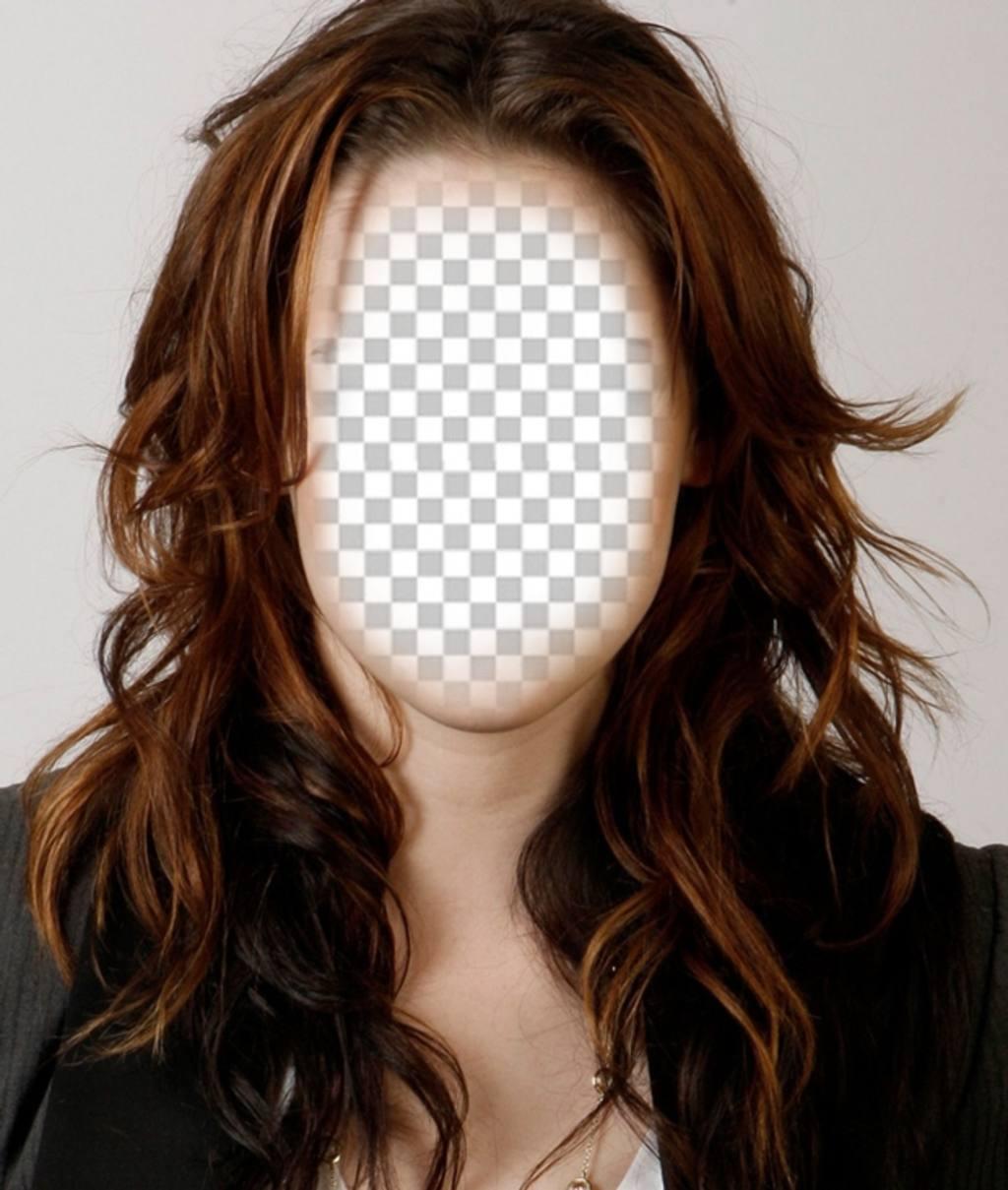 Fotomontaje para llevar el peinado de Kristen Stewart y cambiar de look