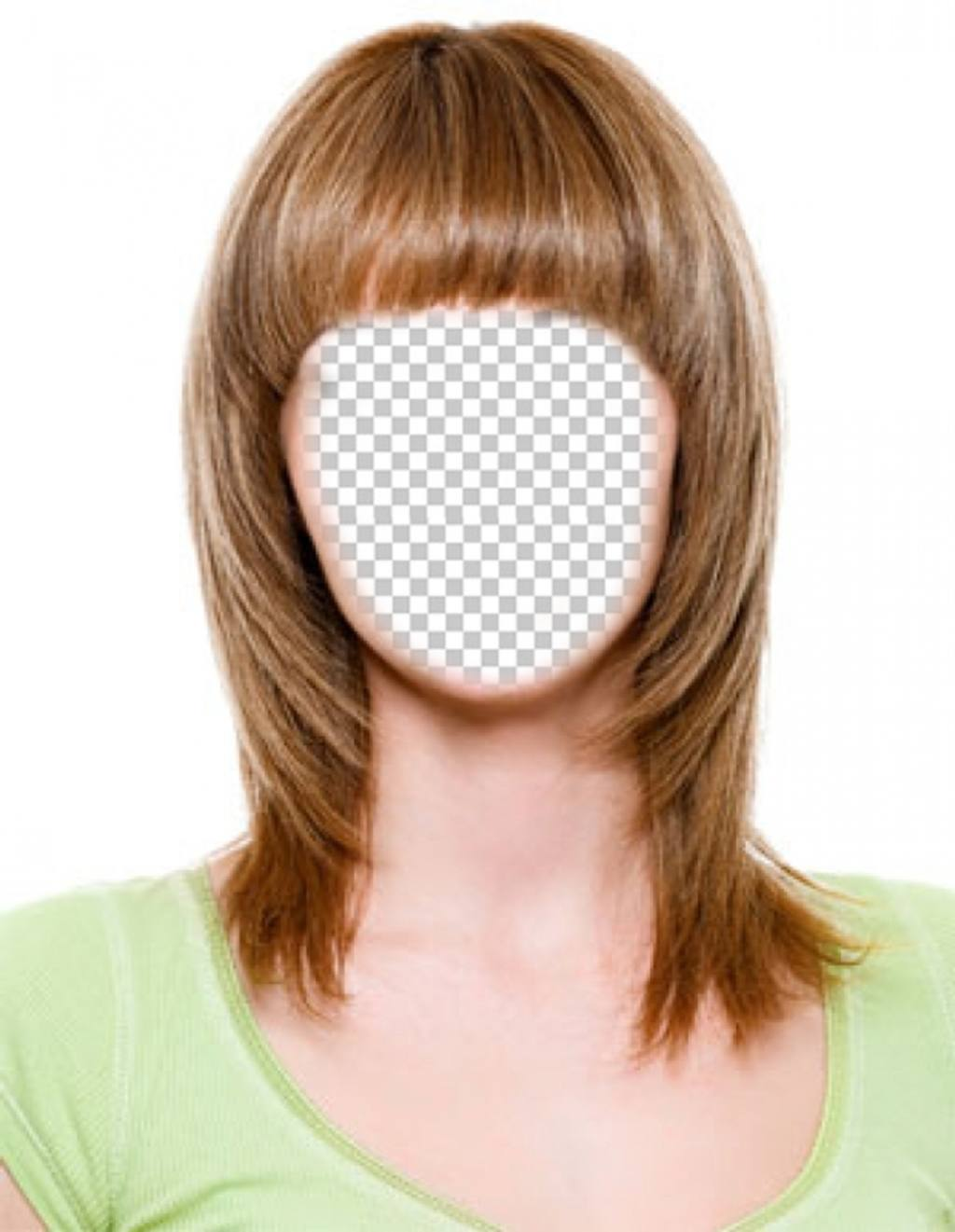 Cambia tu pelo a castaño claro y corto con este fotomontaje para editar