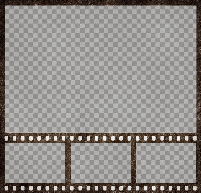 Foto collage de película de cine con 4 fotogramas para personalizar online