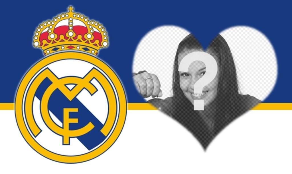 Escudo Del Real Madrid Para Añadir A Tus Fotos Fotoefectos