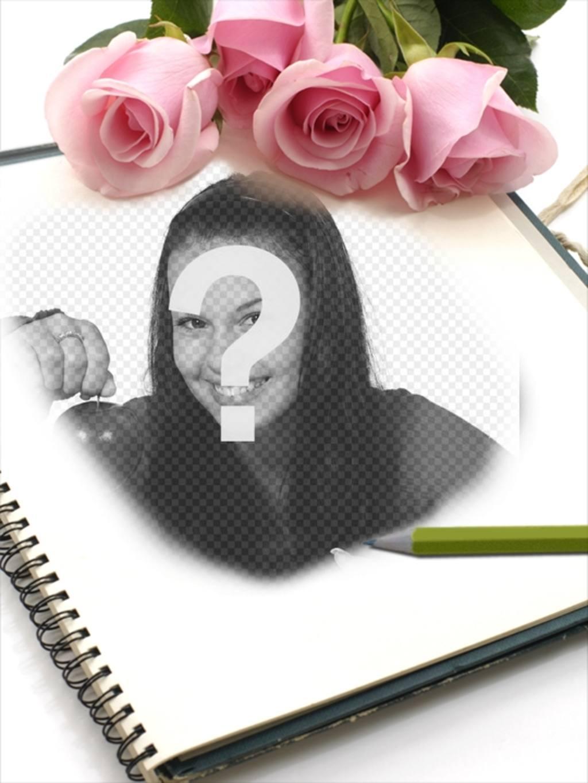 marco rosas fotos puedes anadir imagen libreta