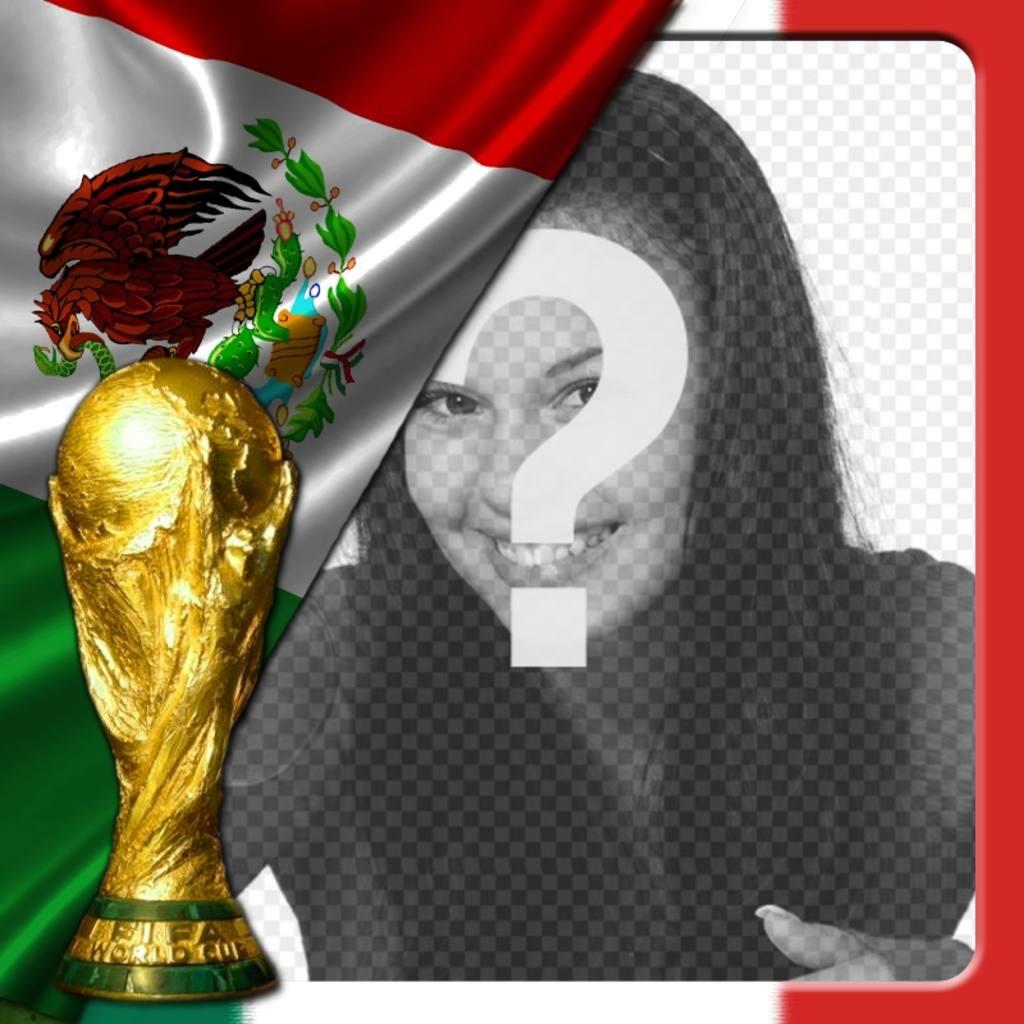 fotomontaje bandera mexico poner foto perfil