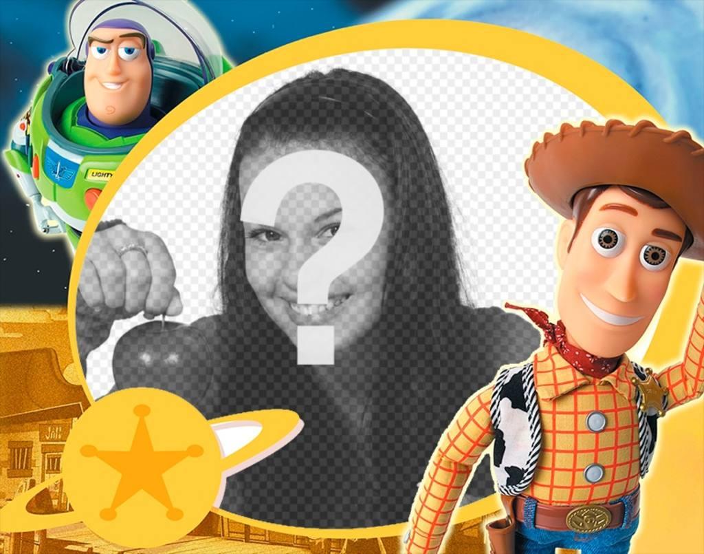 marco infantil toy story personajes principales pelicula