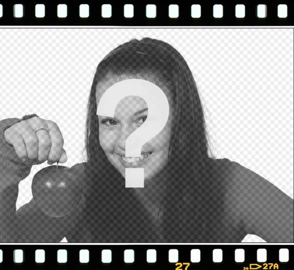 Fotograma para poner tu foto como si fuese parte de una película