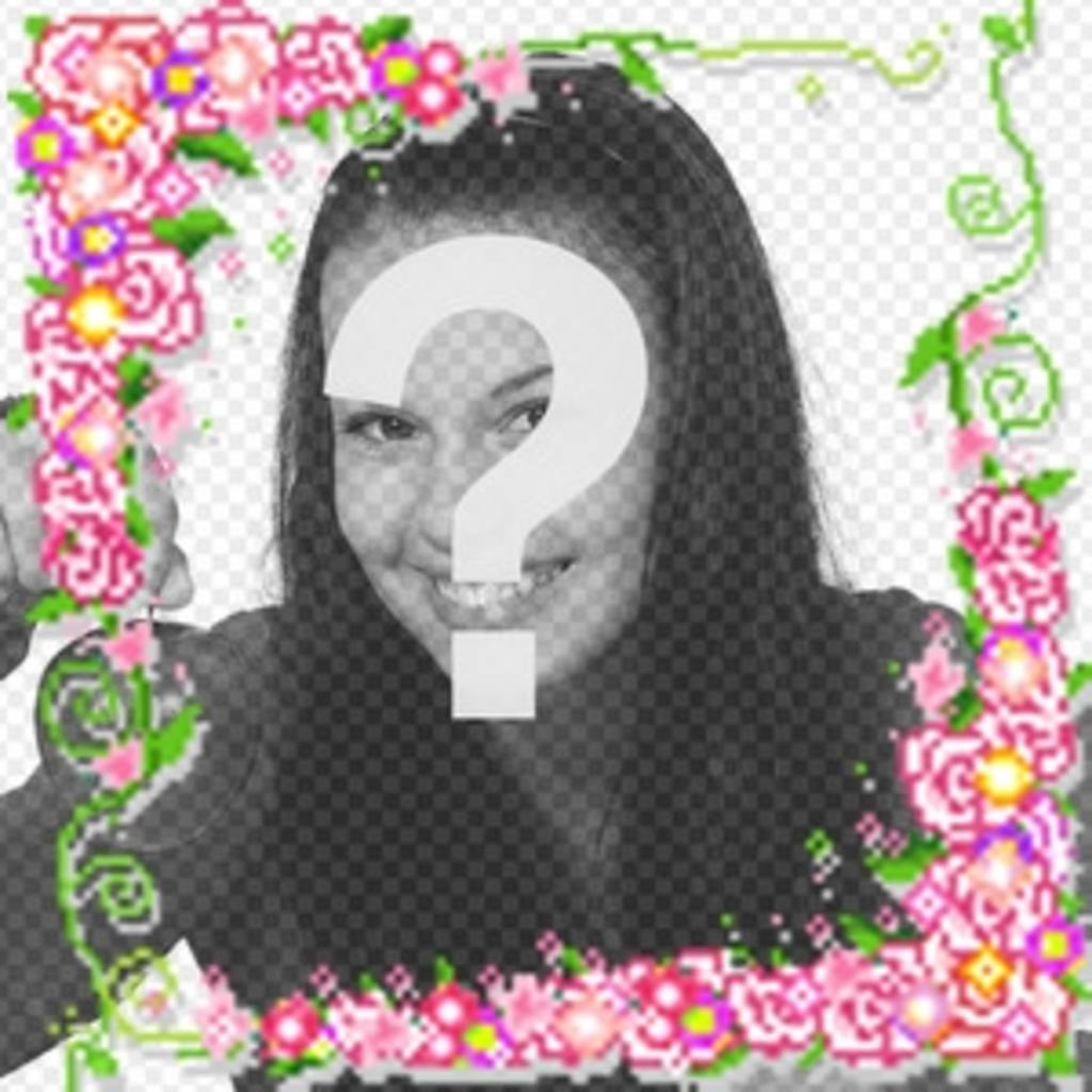 Animación de rosas y luces que puedes hacer con tu foto