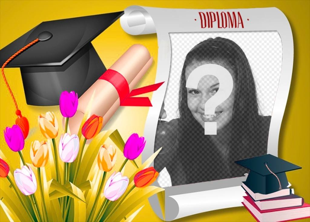 diploma graduacion foto