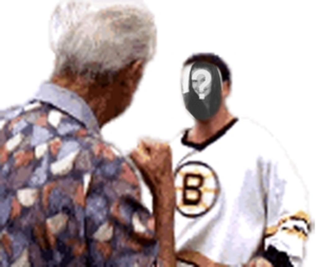 divertida animacion un hombre pegandole un punetazo personalizada foto