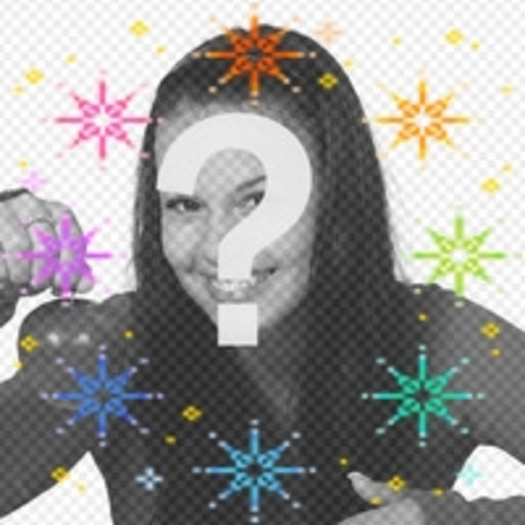 Haz tu avatar más divertido con esta animación de estrellas de colores
