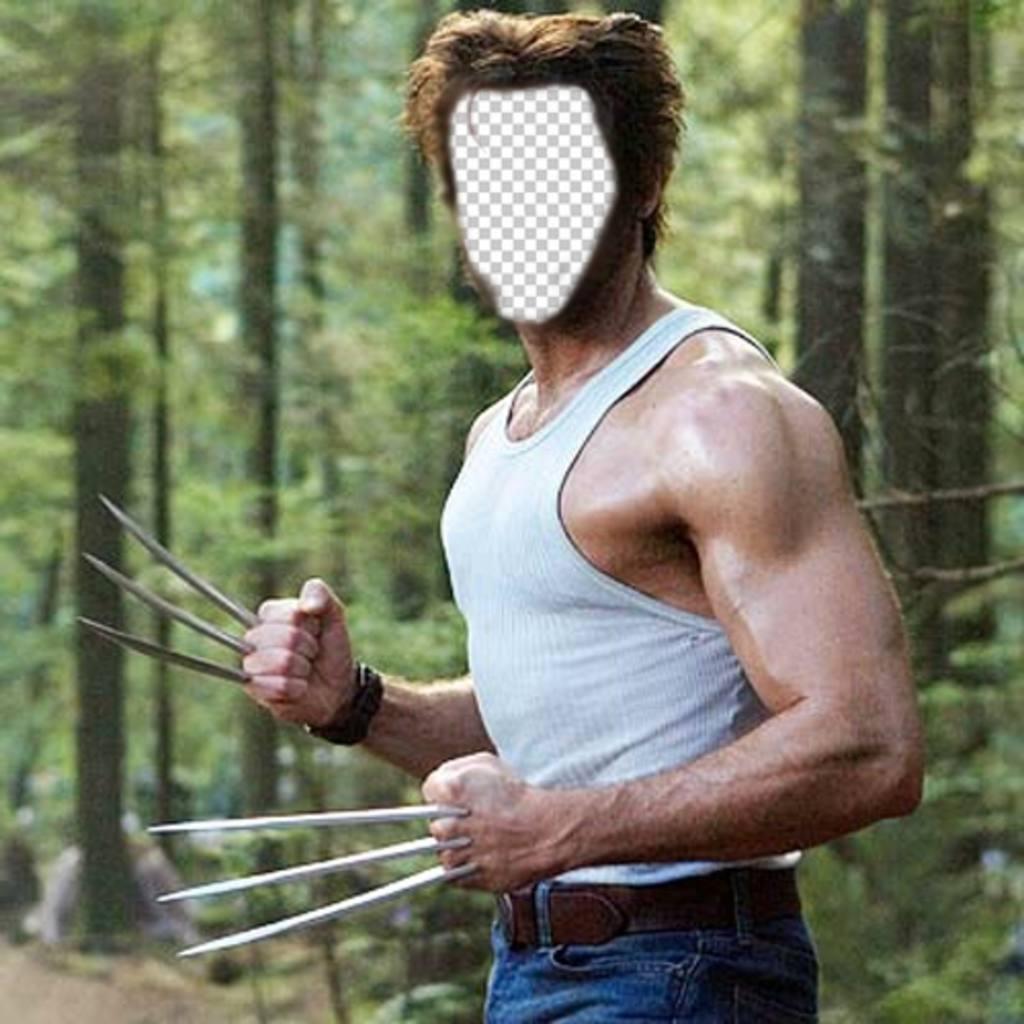Conviertete en Wolverine de la película X Men con este montaje