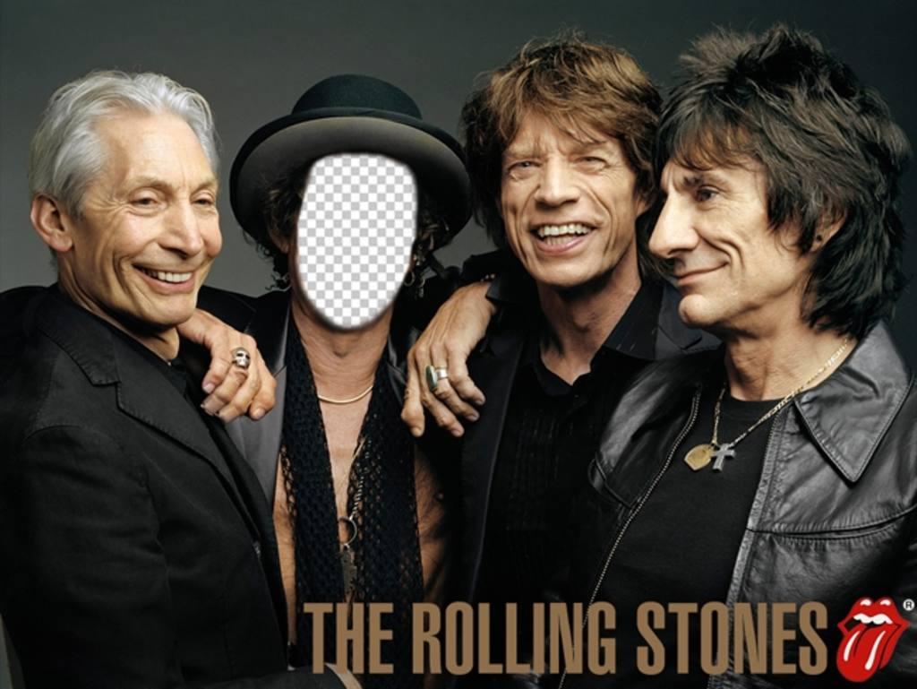 Fotomontaje de los Rolling Stones para personificar con tu foto