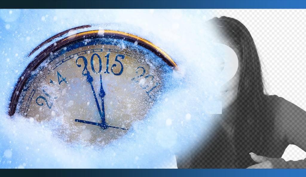 Fotomontaje especial de Año nuevo 2015