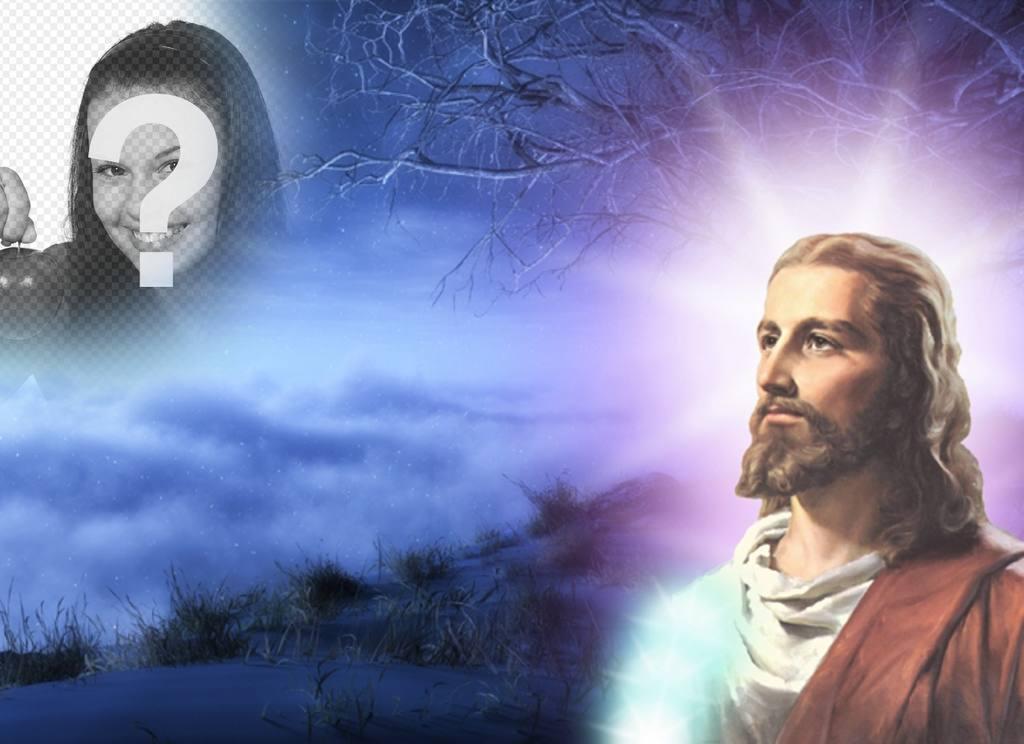 montaje fotos jesucristo puedes poner foto
