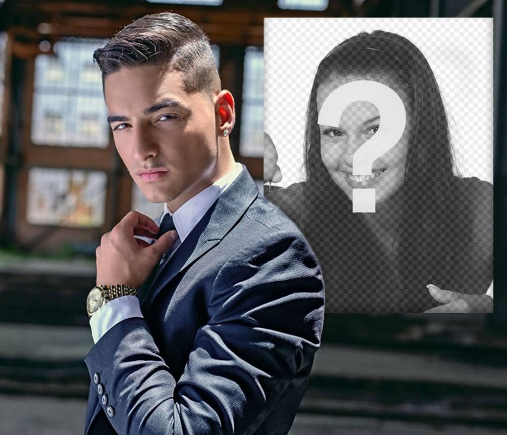 Fotomontaje con Maluma para poner tu foto junto a el