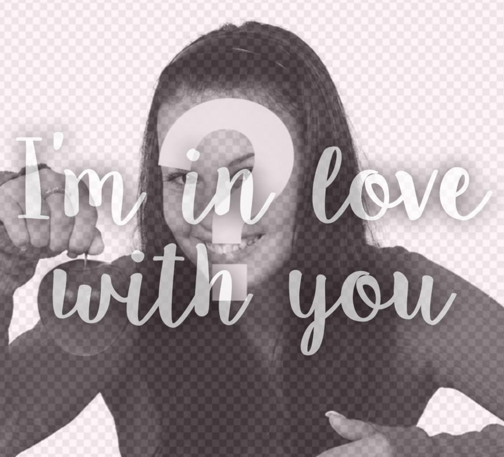 Frase De Im In Love With You Para Añadir Encima De Tus Fotos