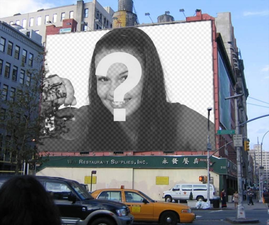 fotomontaje cartel publicitario un edificio podras poner fotografia