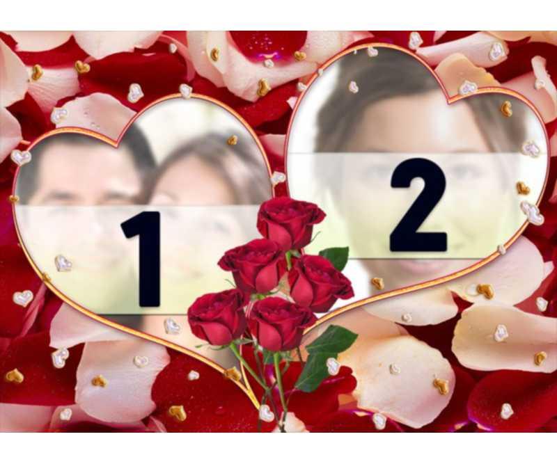 marcos y fotomontajes  para San Valentín