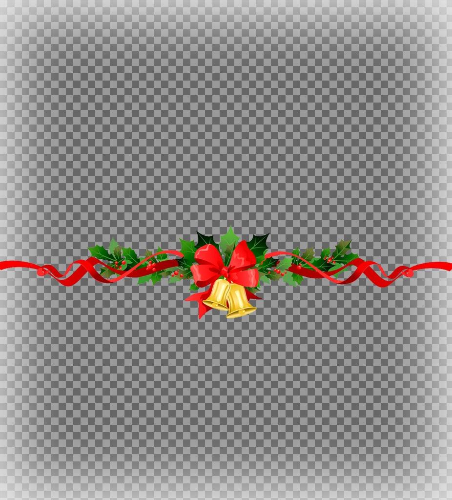 Une dos fotos con una guirnalda Navideña decorativa con este efecto