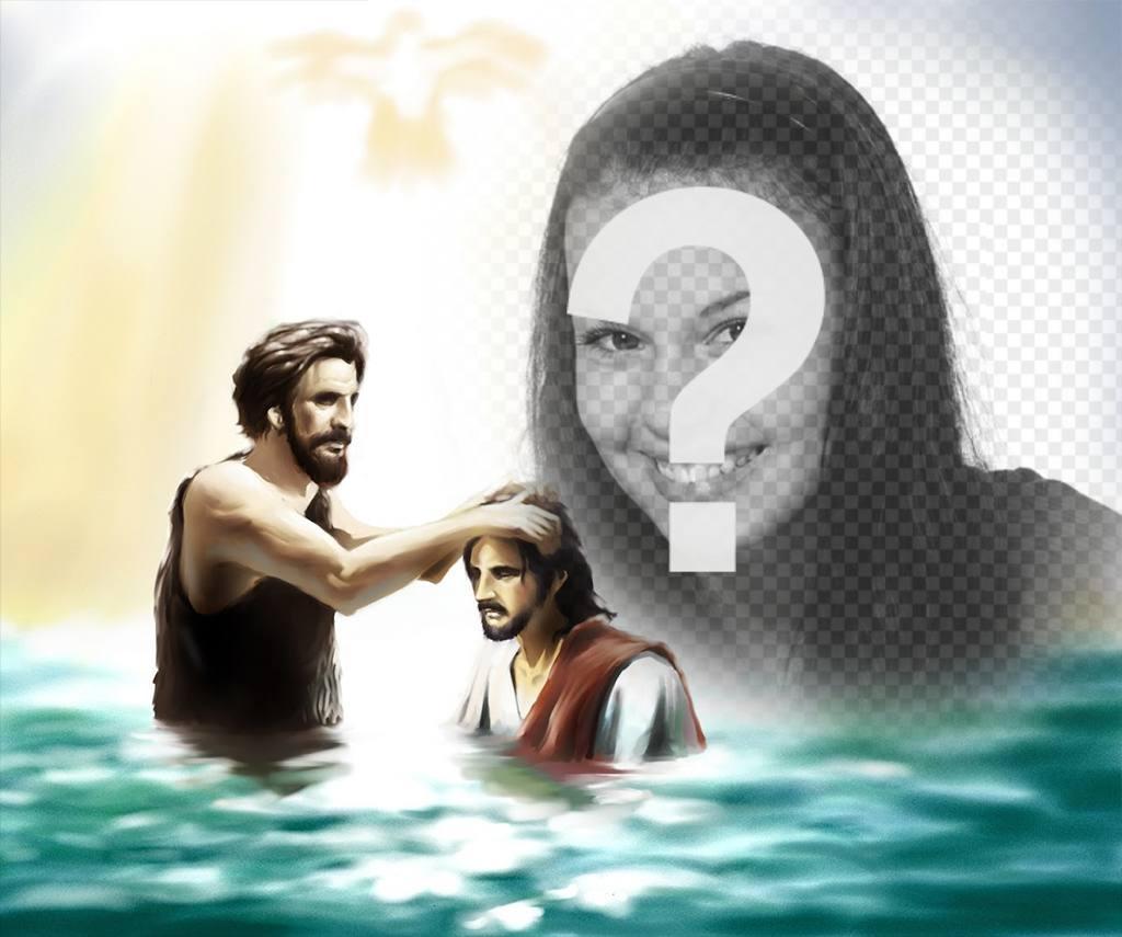 imagen anadir foto juan bautista jesus cristo