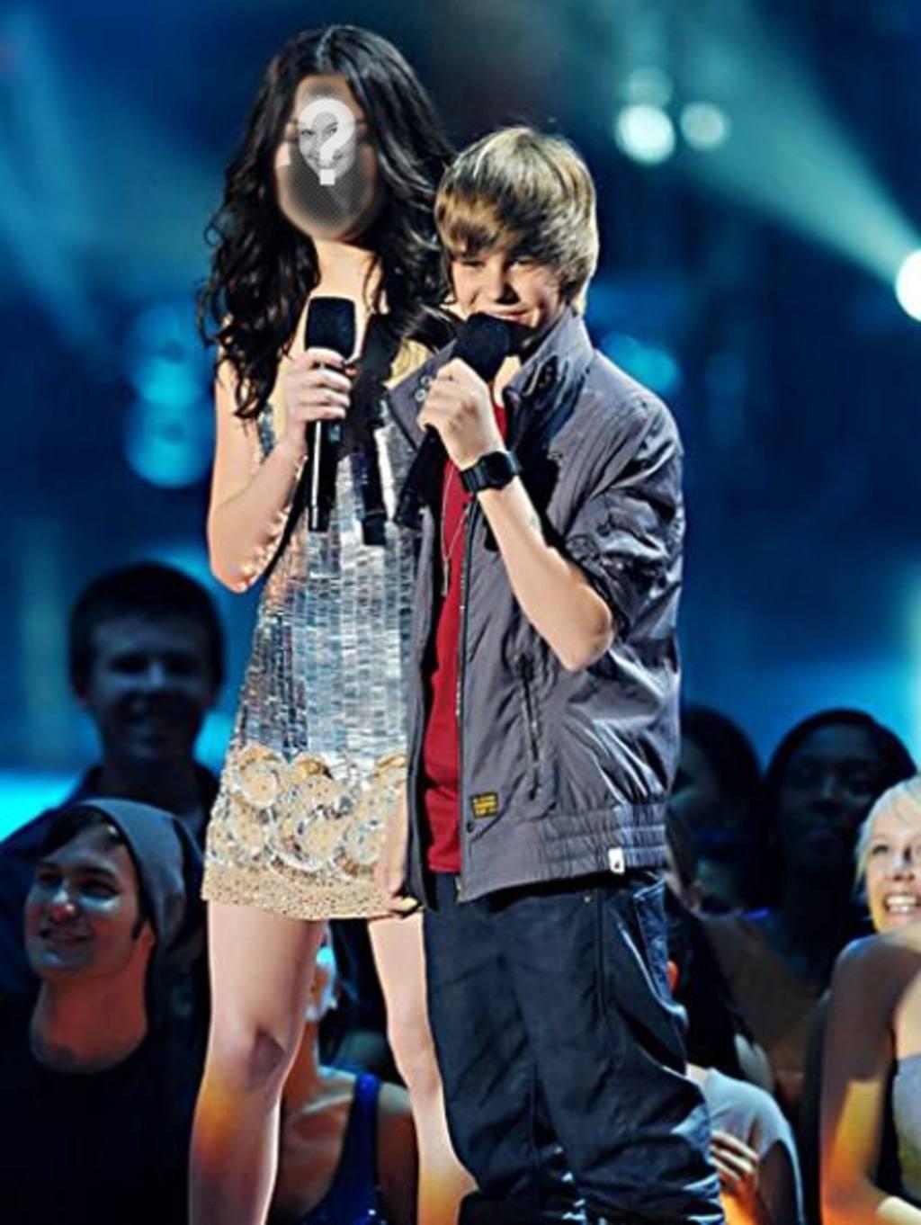 Fotomontaje de Justin Bieber | Hacer Fotomontajes Gratis