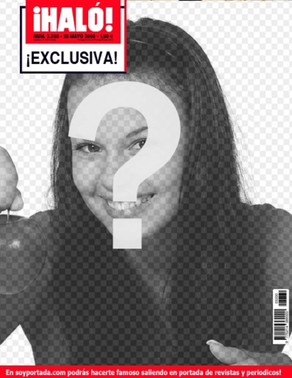 exclusiva portada revista prensa rosa halo escandalo