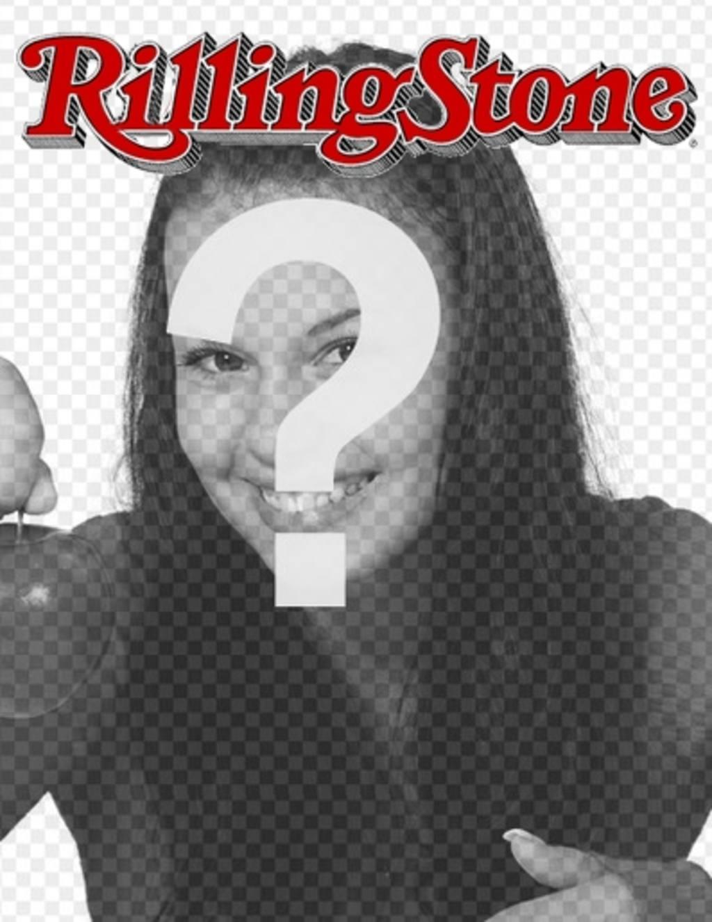 Rolling Stone portada personalizable con tu foto. Edita la plantilla ...