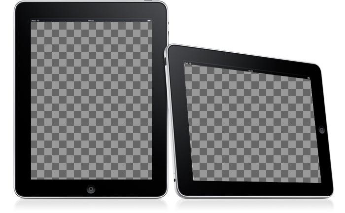 Métete en dos marcos sencillos. Sube dos fotografías para este fotomontaje en que las imágenes aparecen en dos marcos digitales sobre un fondo blanco