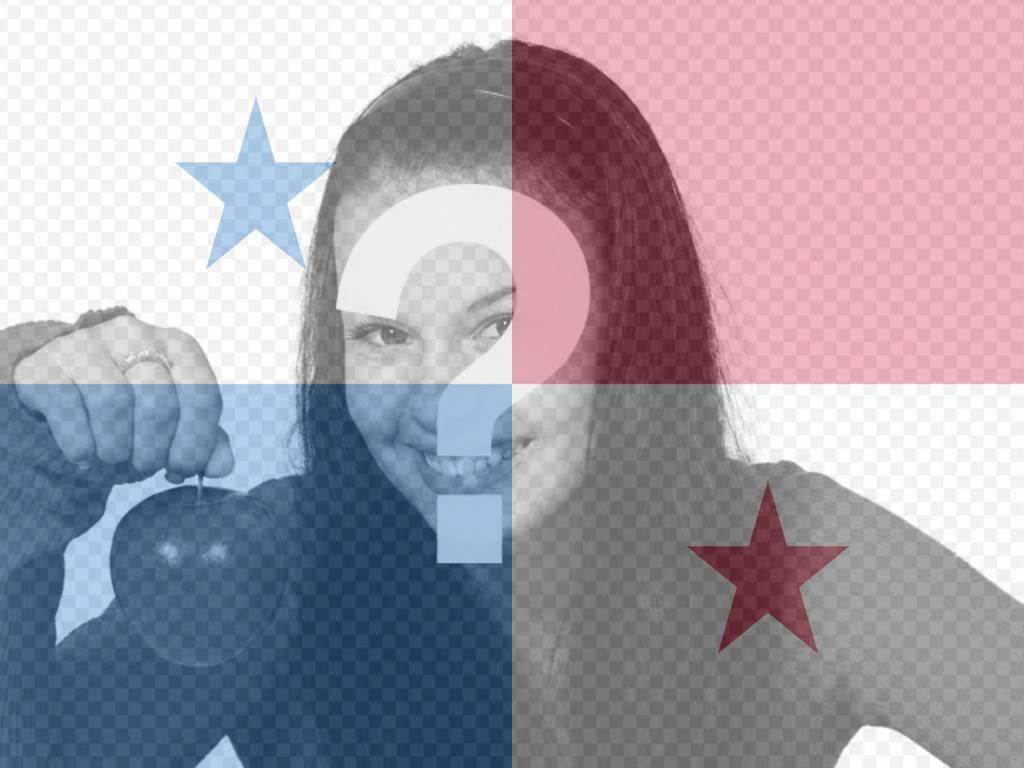 Montaje para fotos para poner la bandera de Panamá con tu foto ...