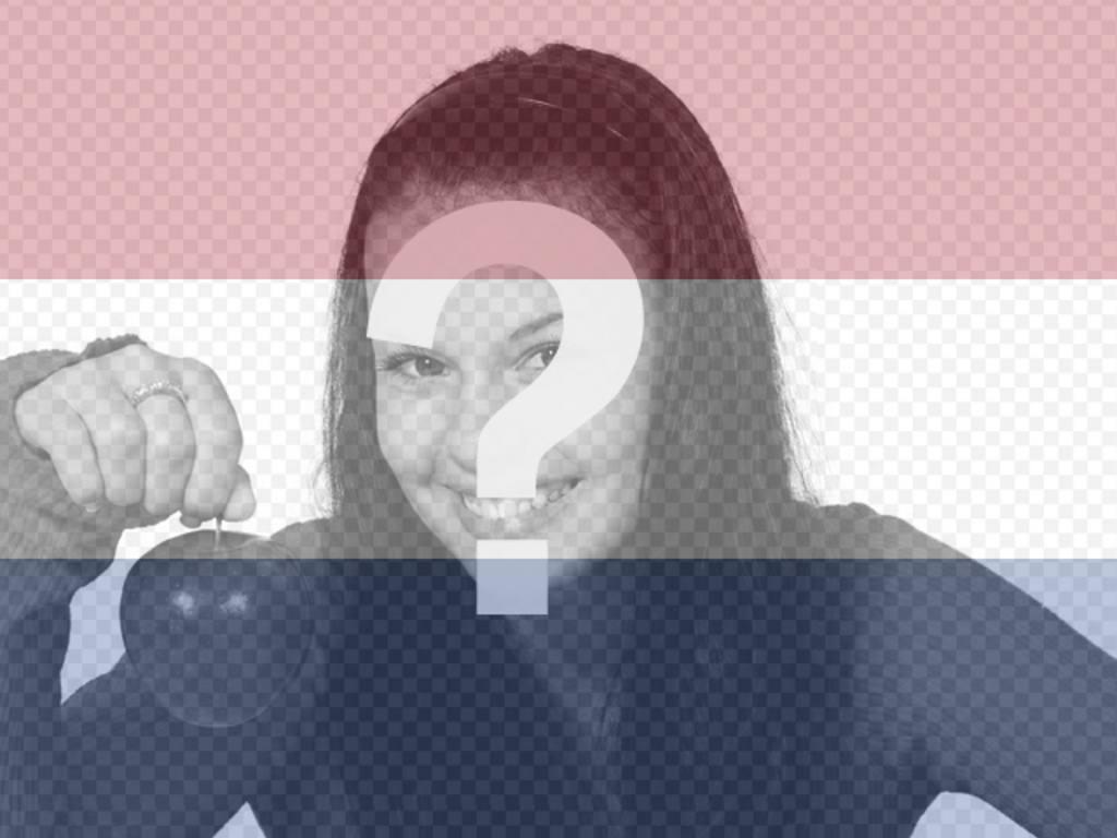 montaje fotos podras poner bandera holanda foto