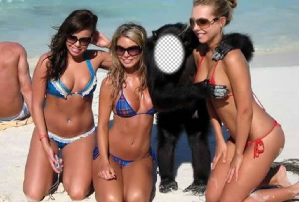 Crea Junto Tres Traje Un Chicas Para A En Fotomontaje Mono Este Ser l3TF1cKJ