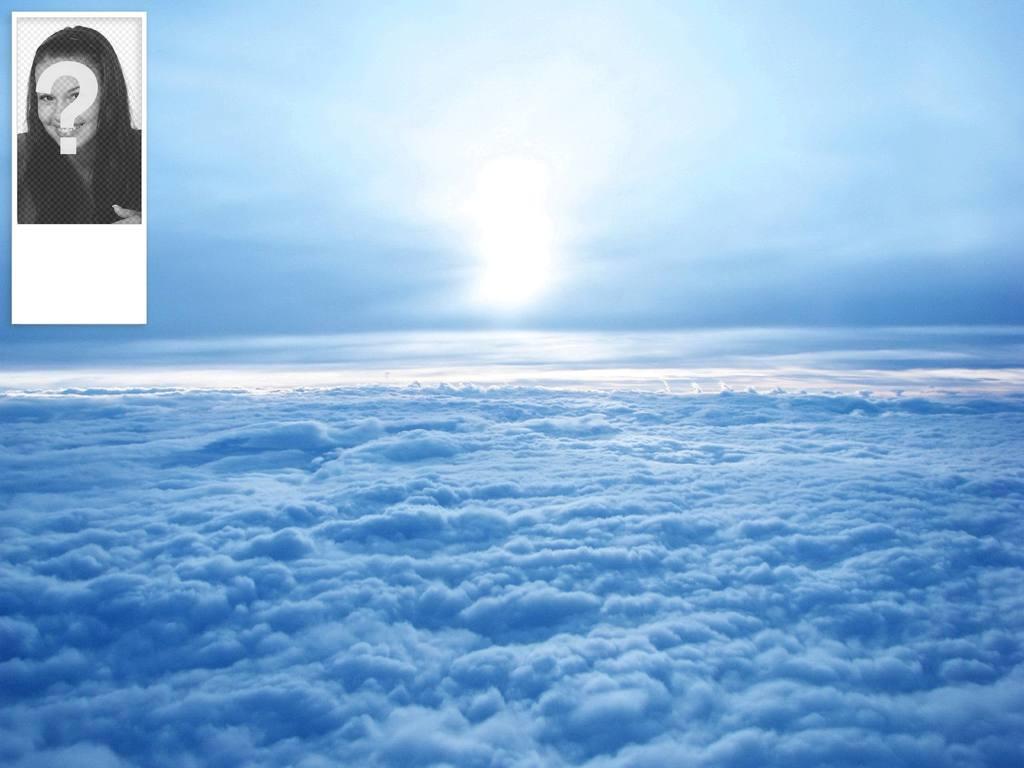 fondo personalizado twitter cielo nubes pon foto
