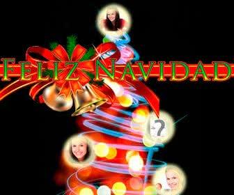 Felicitaciones De Navidad En Castellano.Postales De Navidad Fotoefectos