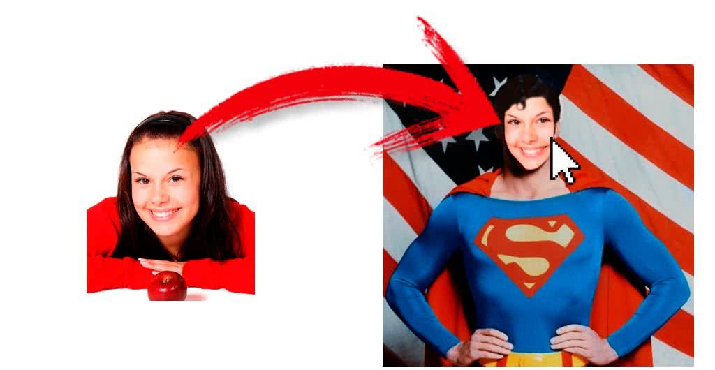 fotomontaje superman online