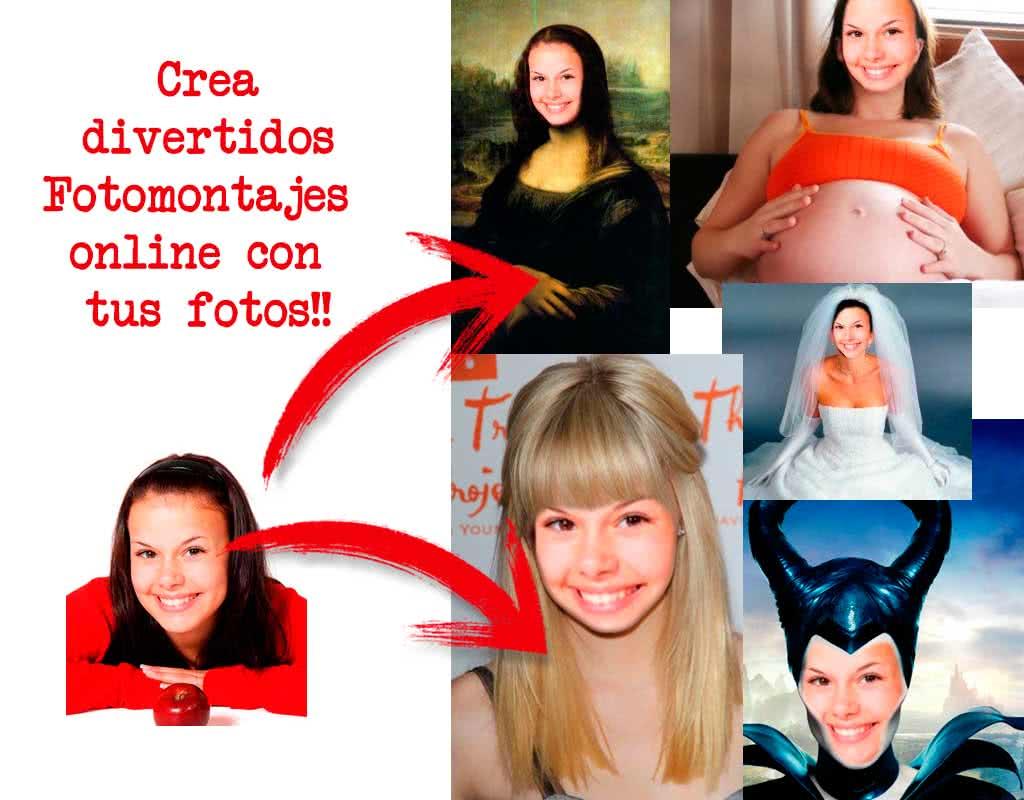 Fotomontajes online con tus fotos