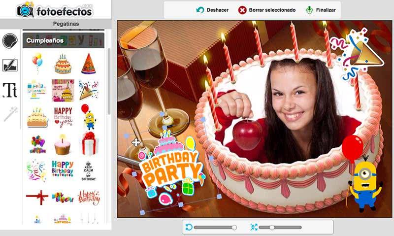 postales de cumpleaños para editar
