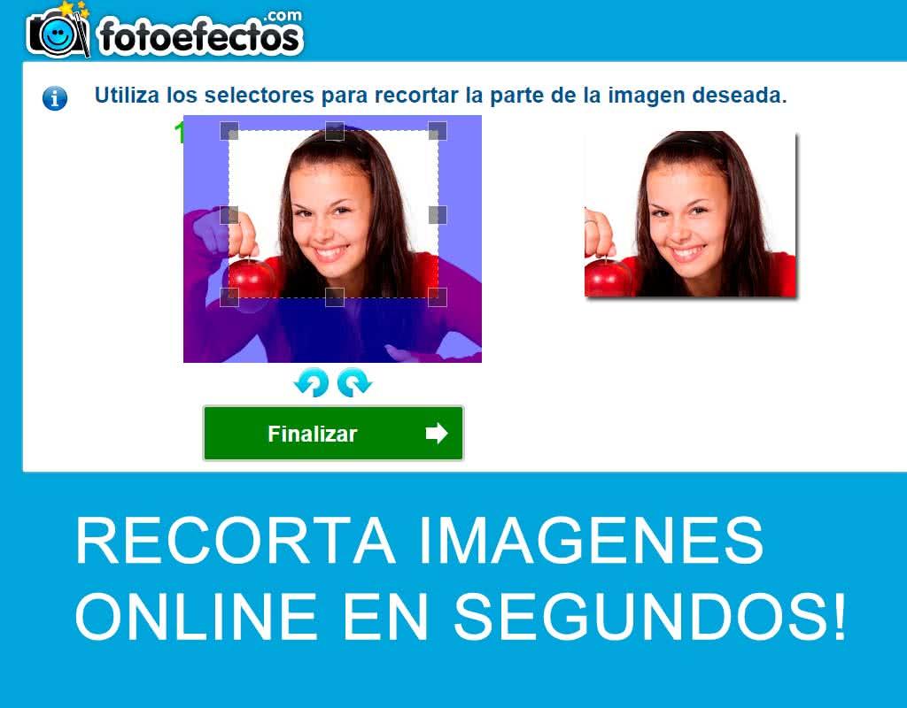 recortar imagenes online es fácil