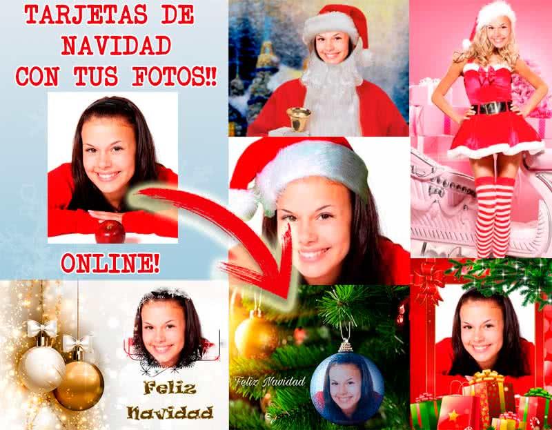 tarjetas de navidad online