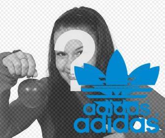 Malawi almohadilla Moretón  Sticker del logo de Adidas Originals para tus fotos - Fotoefectos