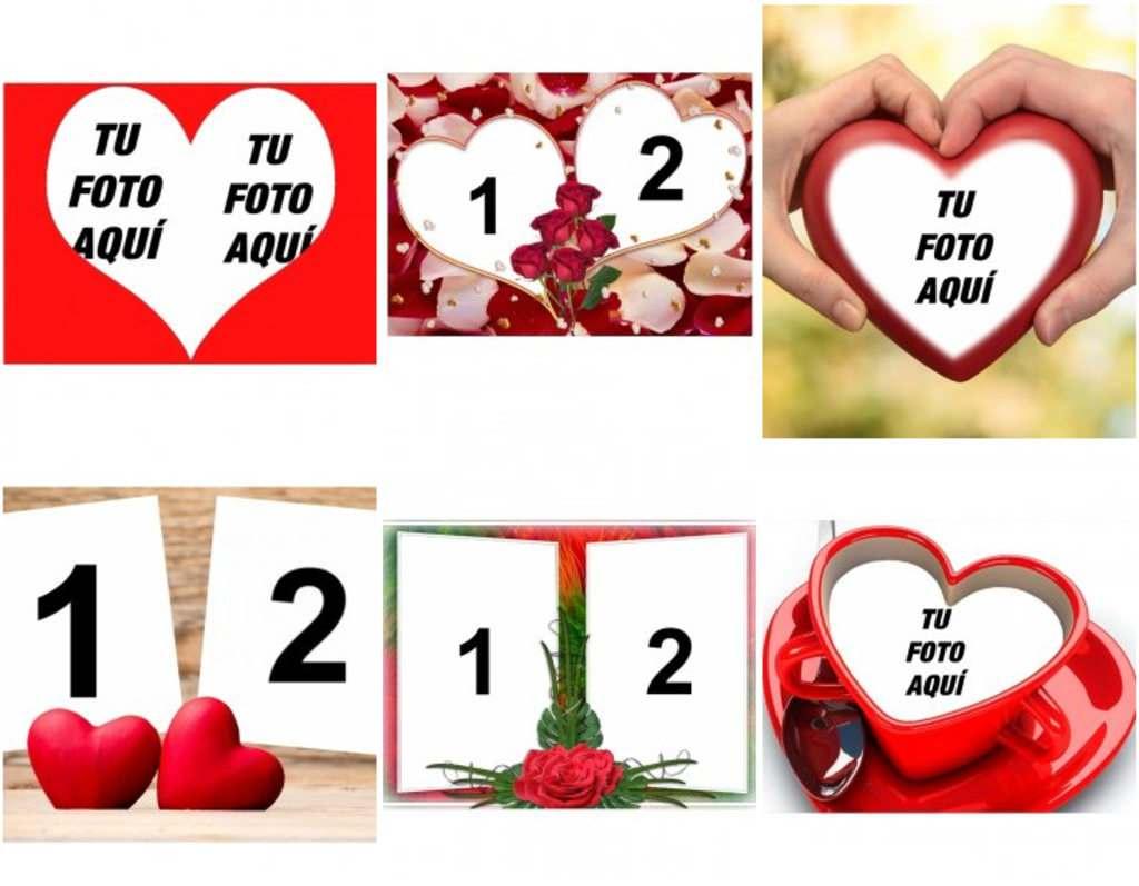 Tarjetas De Amor Con Tus Fotos Fotoefectos