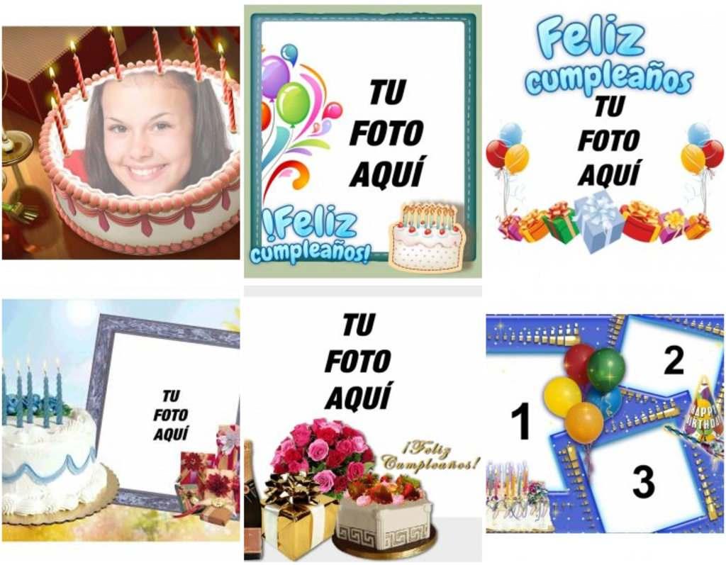 Tarjetas De Cumpleaños Online Fotoefectos