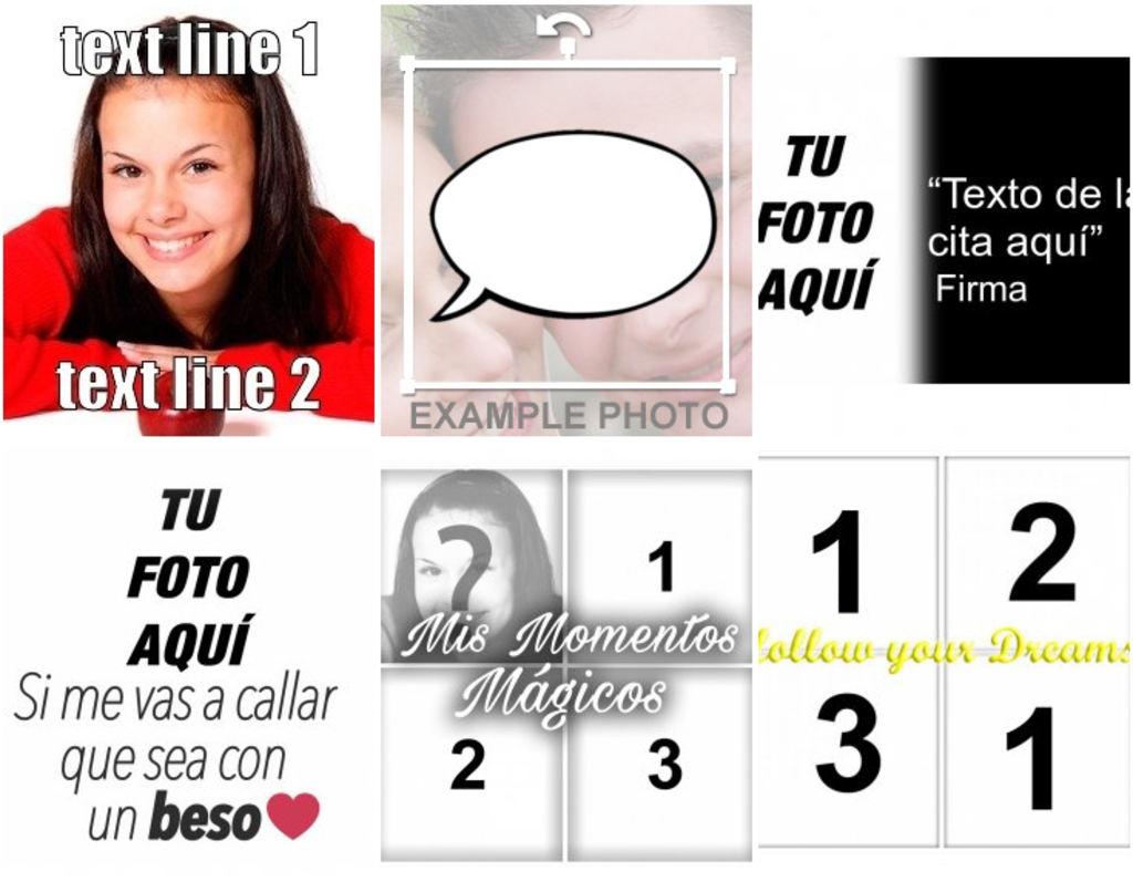 Frases Para Fotos Con Tu Imagen Fotoefectos