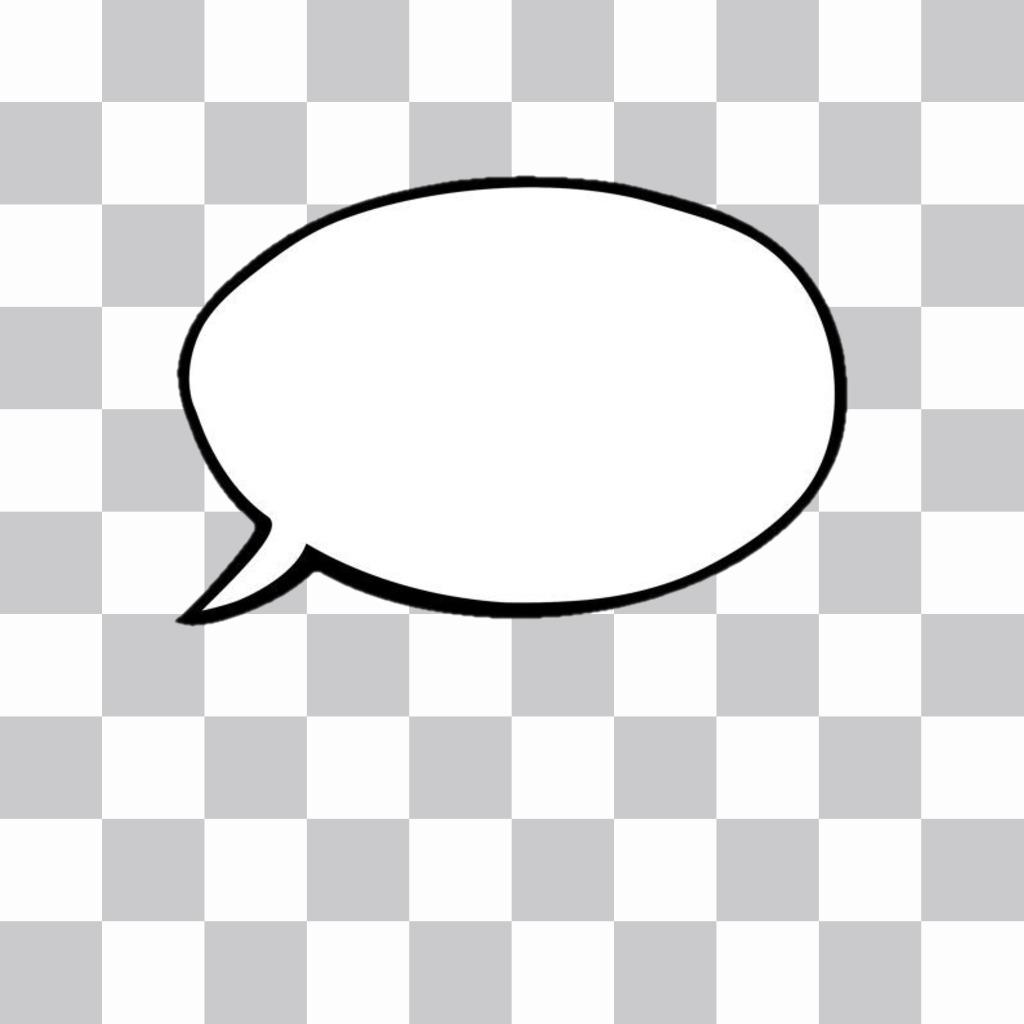 Generador de globos de texto(bocadillos estilo cómic) para añadir a tus fotos