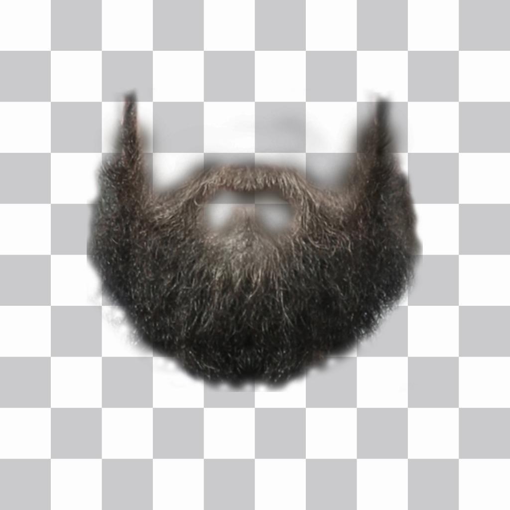 Fotomontaje para poner una barba en tu foto