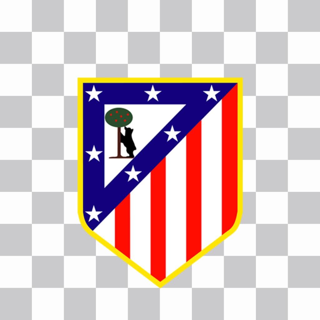 Logo del Atlético Madrid para poner en tus fotos gratis