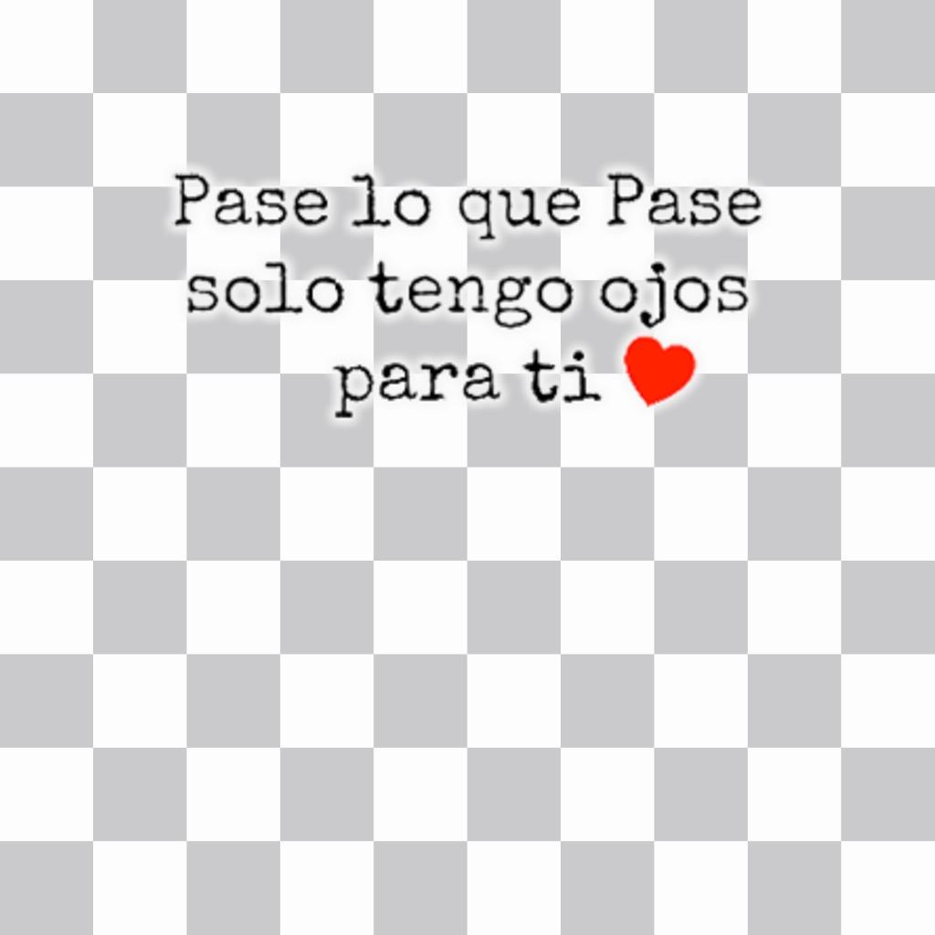 Sticker Online Con Una Frase Bonita De Amor Para Poner En