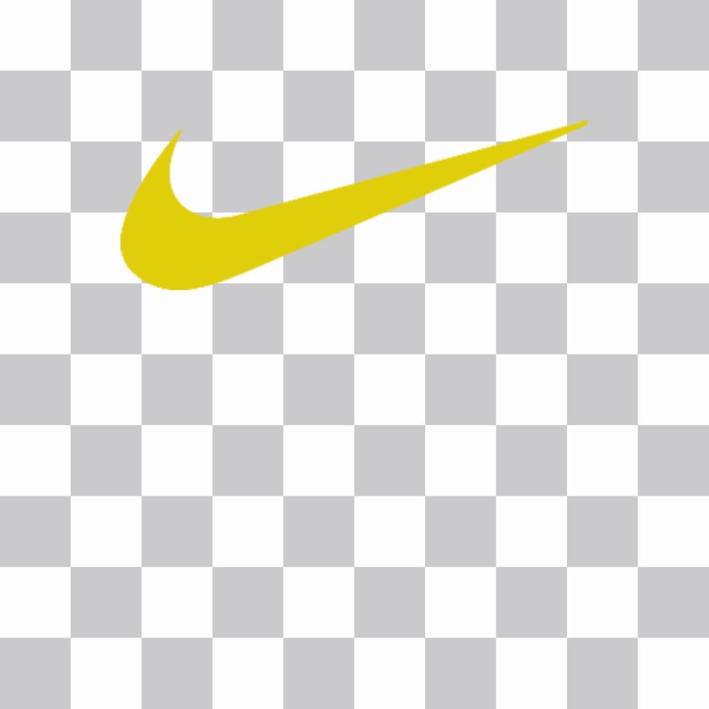 vanguardia de los tiempos venta reino unido Buenos precios Sticker del logo blanco de Nike para poner en tus fotos - Fotoefectos